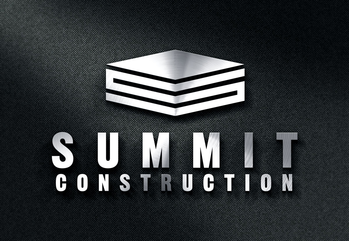 Summit_Construction_3D_Metal_Logo