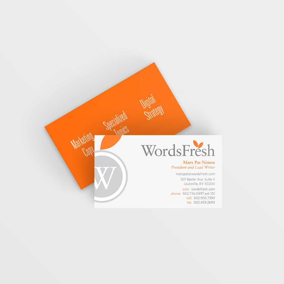WordsFresh-Business-Card