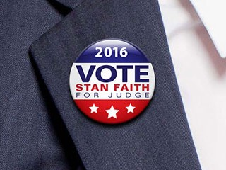 Stan Faith – For Judge Campaign