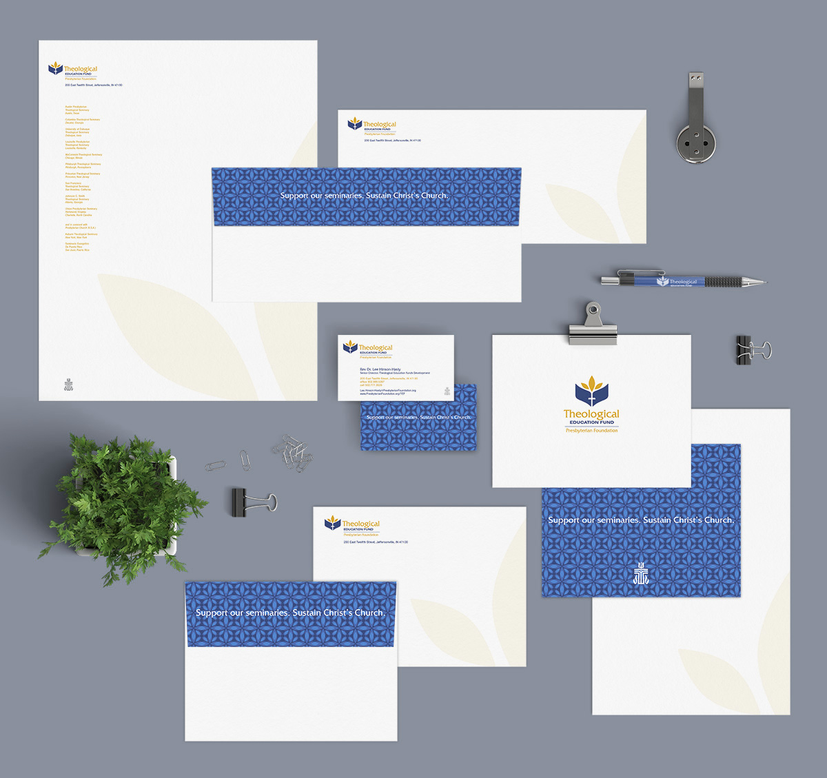 TEF-Stationery